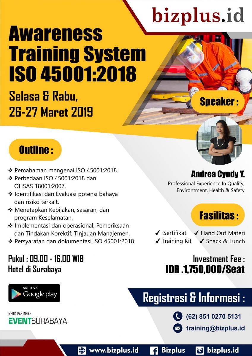 ISO 45001.2018 (Public Training)