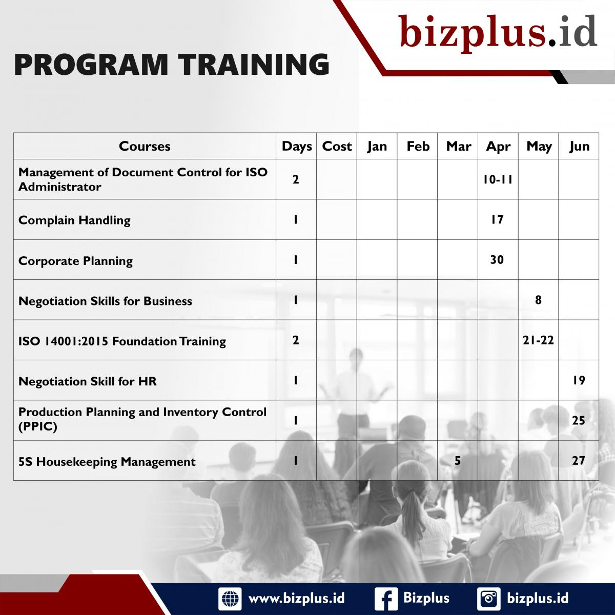 Program Training 2