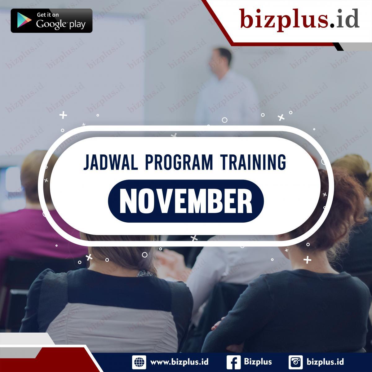 Program Training November (Slide 1)